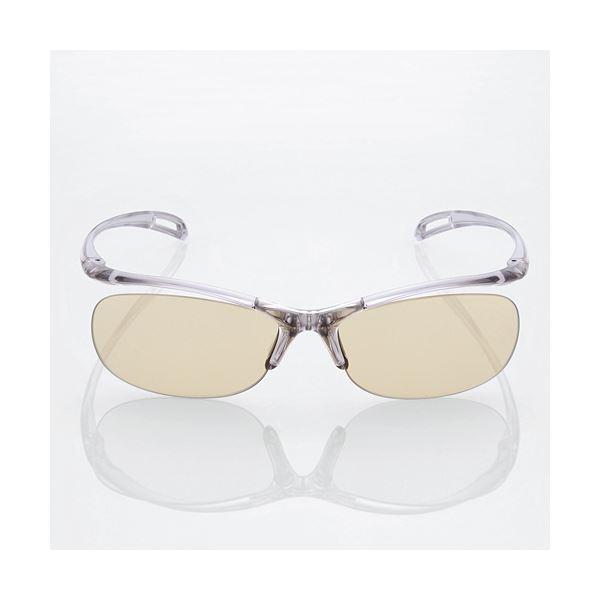 """(まとめ)エレコム ブルーライト対策眼鏡""""PC GLASSES"""