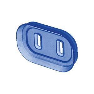 (業務用50セット) サンワサプライ プラグ安全カバー TAP-PSC5N 2P用 6個