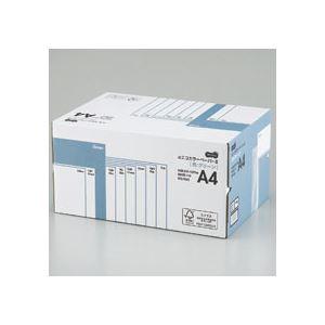 (まとめ) TANOSEE αエコカラーペーパーII A4 グリーン 業務用パック 1箱(5000枚:500枚×10冊) 【×10セット】