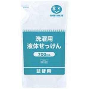 (業務用5セット) ジョインテックス 洗濯用液体せっけん 700mL 12袋 N207J-12