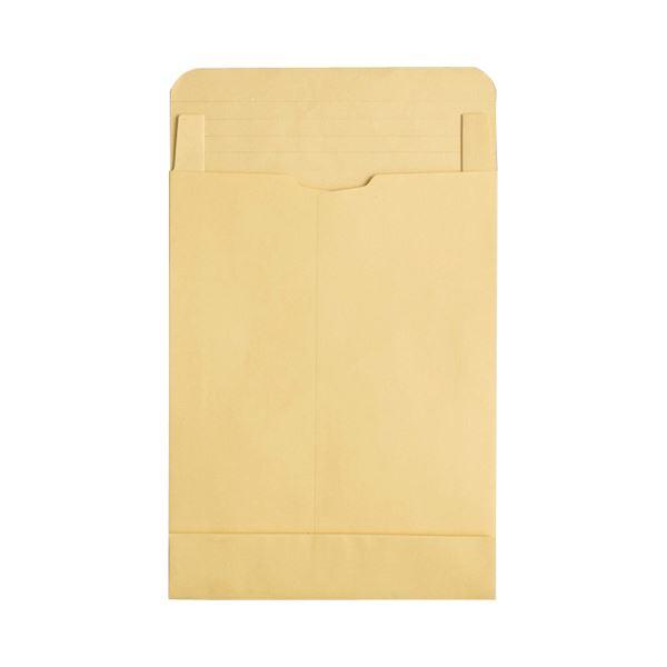(まとめ) TANOSEE マチ付クラフト大型封筒(幅広) 角0 120g/m2 1パック(50枚) 【×2セット】