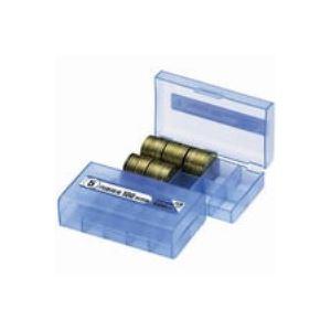 (業務用200セット) オープン工業 コインケース M-5W 5円用 収納100枚
