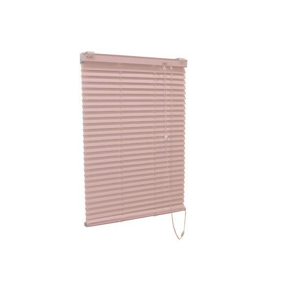 アルミ製 ブラインド 【165cm×183cm ピンク】 日本製 折れにくい 光量調節 熱効率向上 『ティオリオ』【代引不可】