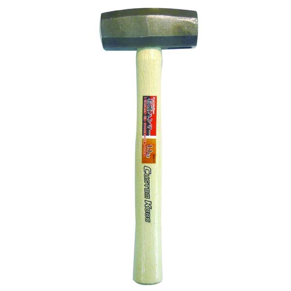 (業務用20セット)CSK 石頭ハンマー(建築土木向けかなづち/大工道具) 1.1kg CSH-11 〔業務用/家庭用/DIY/日曜大工〕
