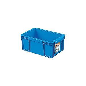 【40セット】 ホームコンテナー/コンテナボックス 【HC-03A】 ブルー 材質:PP 〔汎用 道具箱 DIY用品 工具箱〕【代引不可】