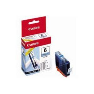 (業務用50セット) Canon キヤノン インクカートリッジ 純正 【BCI-6PC】 フォトシアン(青)
