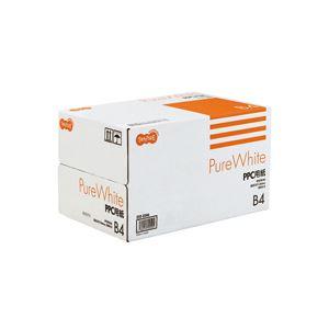 (まとめ) TANOSEE PPC用紙 Pure White B4 1箱(2500枚:500枚×5冊) 【×10セット】