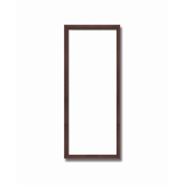 【てぬぐい額】木製てぬぐい額 縦長額 前面アクリル仕様・壁掛けひも ■黒(茶)てぬぐい額(890×340mm)シタン色