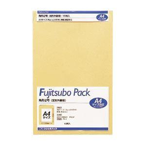 (業務用セット) 藤壷クラフトパック封筒 クラフト製・パック入 PK-2 10枚入 【×10セット】