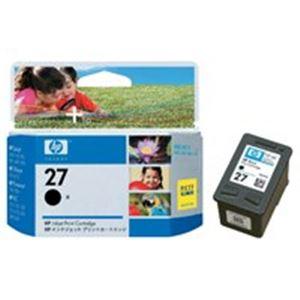 (業務用10セット) HP ヒューレット・パッカード インクカートリッジ 純正 【HP27 C8727A】 ブラック(黒)
