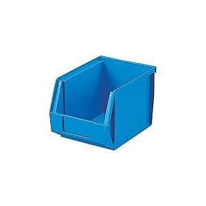 【40セット】 ホームコンテナー/コンテナボックス 【HN-2】 ブルー 材質:PP 〔汎用 道具箱 DIY用品 工具箱〕【代引不可】