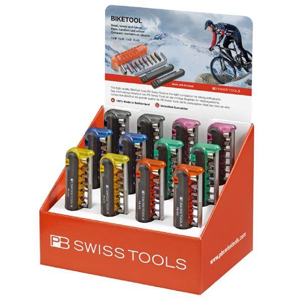 PB SWISS TOOLS 470POSCOL バイクツールディスプレイセット(6色)
