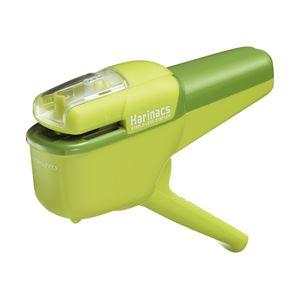 (業務用セット) コクヨ 針なしステープラー(ハリナックス) ハンディタイプ 10枚とじ 緑 【×10セット】