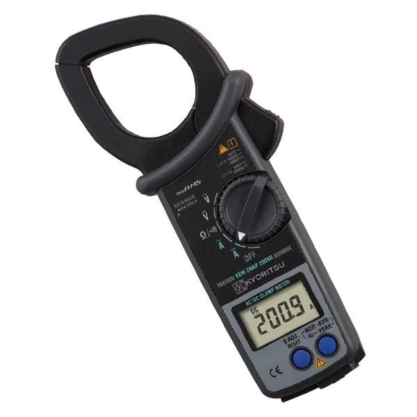 【スーパーSALE限定価格】共立電気計器 キュースナップ・AC/DC電流測定用クランプメータ 2009R【代引不可】