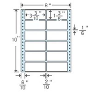 (業務用5セット) 東洋印刷 ナナフォームラベル MT8C 12面 500折