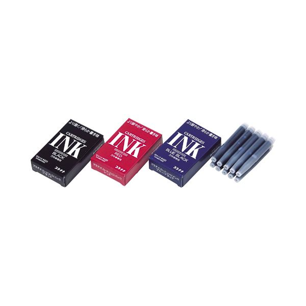筆記具 万年筆 デスクペン カートリッジ ハイクオリティ まとめ プラチナ デスクペン専用スペアインク ブラック ×15セット 10本 1ケース SPSQ-400#1 期間限定特価品