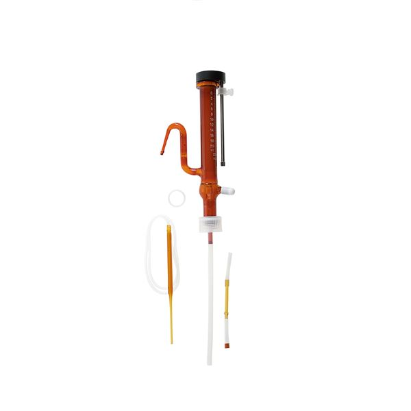 【柴田科学】分注器 リビューレット 茶褐色 本体 20mL 025120-201