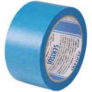 (業務用100セット) セキスイ マスクライトテープ 50mm×25m 青