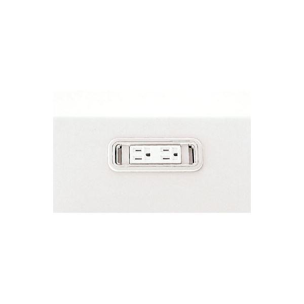 【スーパーSALE限定価格】(業務用10セット) プラス 電源系コンセントボックス LA-CS W4