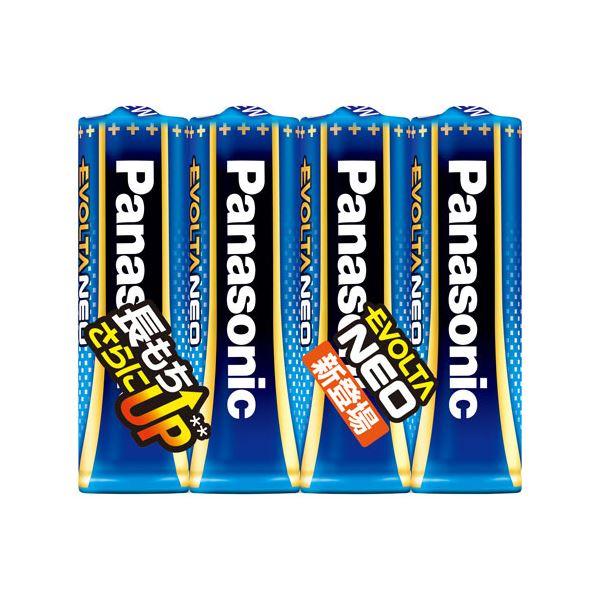 (業務用20セット) Panasonic 乾電池エボルタネオ単3形 4本入 LR6NJ/4SE