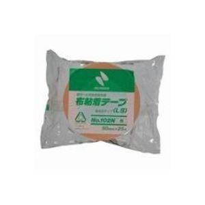 (業務用100セット) ニチバン カラー布テープ 102N-50 50mm×25m 橙