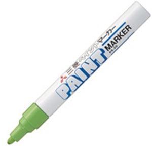 (業務用200セット) 三菱鉛筆 油性ペン/ペイントマーカー 【中字】 PX-20.5 黄緑