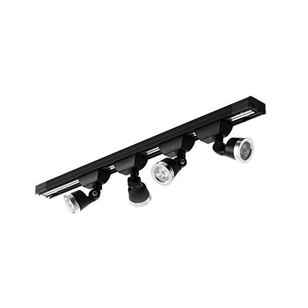 HOBBYLIGHT 小型トラック照明セット 黒 5000K TL062BK5000