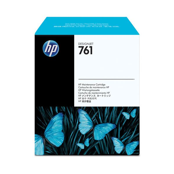 (まとめ) HP761 クリーニングカートリッジ CH649A 1個 【×3セット】