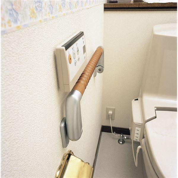 田辺金属工業所 浴室用部材 折りたたみ手すり『じゃませんとって』 VFH-450
