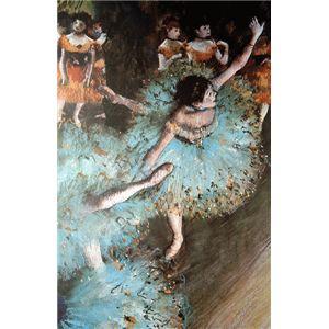世界の名画シリーズ、プリハード複製画 エドガー・ドガ作 「バランスをとる踊り子」【代引不可】