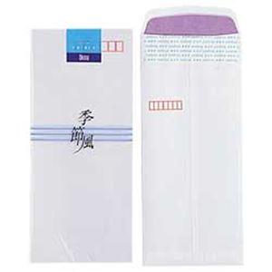 (業務用セット) オキナ 和封筒 季節風 二重封筒 長形4号 1パック(10枚) 【×100セット】