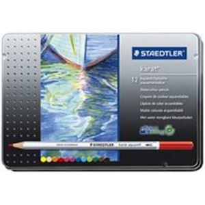 【スーパーSALE限定価格】(業務用20セット) ステッドラー カラト水彩色鉛筆 125M12 12色