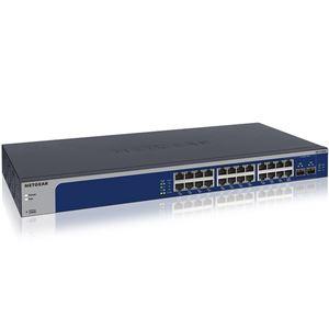 NETGEAR Inc. XS724EM マルチギガ対応10Gx24ポート アンマネージプラス スイッチ