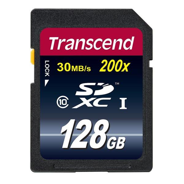 トランセンドジャパン SDXCカード TS128GSDXC10 【5個セット】