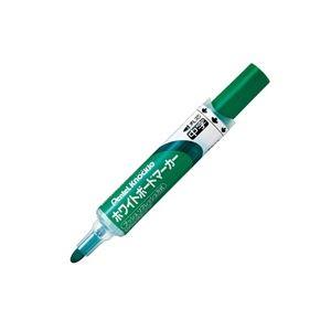 (業務用200セット) ぺんてる ホワイトボードマーカー ノックル 【丸芯・中字/緑】 直液タイプ EMWLM-D