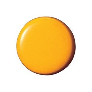(業務用100セット) ジョインテックス 両面強力カラーマグネット 18mm橙 B270J-O 10個