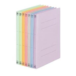 (業務用50セット) プラス フラットファイル/紙バインダー 【B5/2穴 10冊入り】 031N ブルー(青) ×50セット