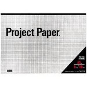 【ポイント10倍】(業務用100セット) オキナ プロジェクトペーパー PPA35S A3 5mm方眼