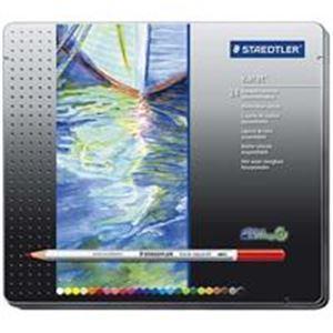【スーパーSALE限定価格】(業務用10セット) ステッドラー カラト水彩色鉛筆 125M24 24色