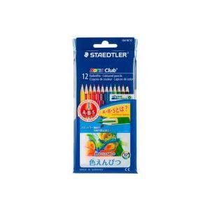 【スーパーSALE限定価格】(業務用100セット) ステッドラー ノリスクラブ色鉛筆12色 144 NC12P