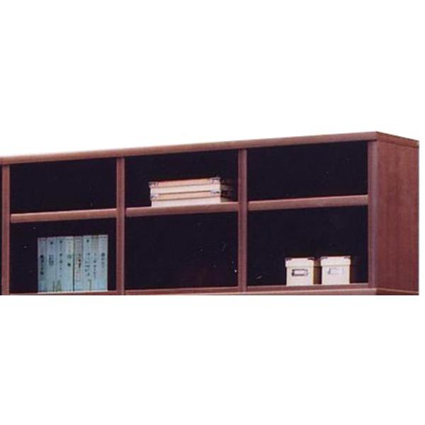 上置き(オープンラック用棚) 幅129cm 木製(天然木) 棚板付き 日本製 ブラウン 【Glacso2】グラッソ2 【完成品】【代引不可】