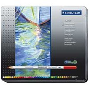 【スーパーSALE限定価格】(業務用5セット) ステッドラー カラト水彩色鉛筆 125M36 36色
