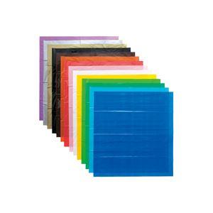 (業務用10セット) スマートバリュー カラーポリ袋20枚入800*650 銀 N157J-SL