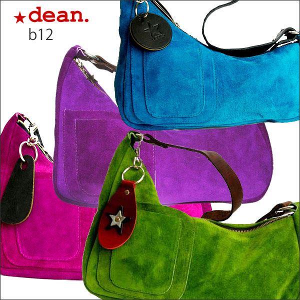 ★dean(ディーン) medium shoulder ハンドバッグ fuschia(ピンク)