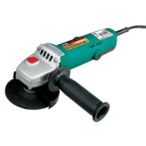 (業務用5個セット) TRAD ディスクグラインダー/電動工具 【550W】 スリム シャフトロック機構 TDG-100MS 100V 〔DIY専用〕