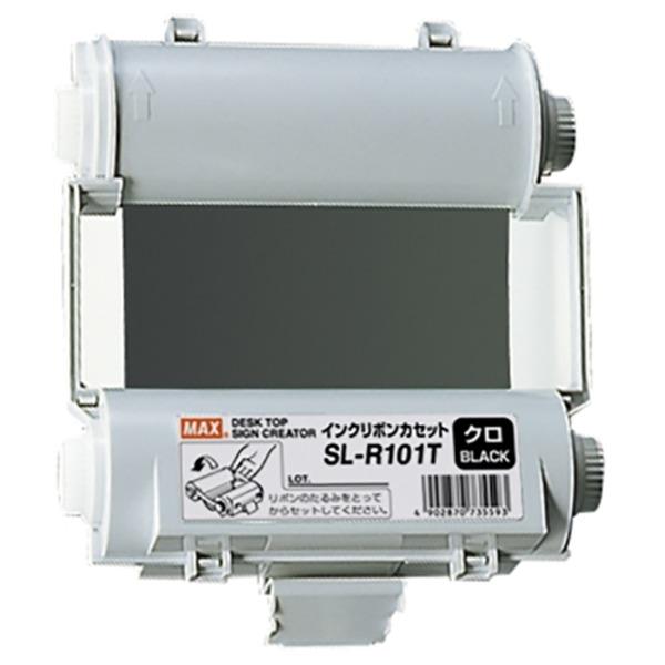 【スーパーSALE限定価格】(業務用5セット) マックス インクリボン SL-R101T 黒