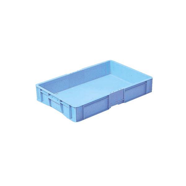 【5個セット】 トレー・めんコンテナー/食品用コンテナー 【28L ブルー】 T-32【代引不可】