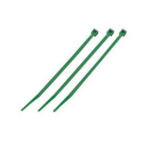 (まとめ)結束バンド ケーブルタイ(カラー) 【長さ250mm/100本入×10セット】 グリーン(緑) マーベル MCT-250GN