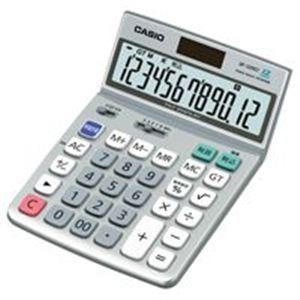 【スーパーSALE限定価格】(業務用10セット) カシオ計算機(CASIO) 電卓 DF-120GT-N