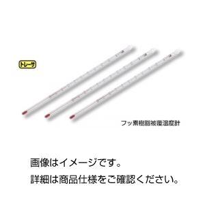 (まとめ)フッ素樹脂被覆温度計 TA-100【×10セット】
